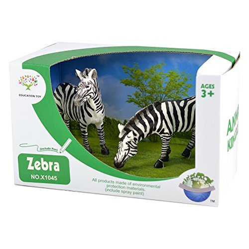 animal-kingdom-wild-life-set-of-2-zebra-action-figures-realistic-details-safari