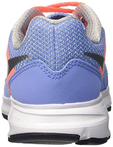 Nike - 685167 - Downshifter 6 (Gs/Ps) - Chaussures de Running Compétition - Homme Bleu / Plateado / jaune (Chlk Blue / Mtllc Slvr-Brght Mng)