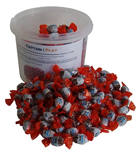 Party Bucket mit Ferrero Kinder Schoko Bons in Einzelverpackung, 1er Pack (1 x 1,2 kg) (Für Coole Eine Halloween-party Ideen)