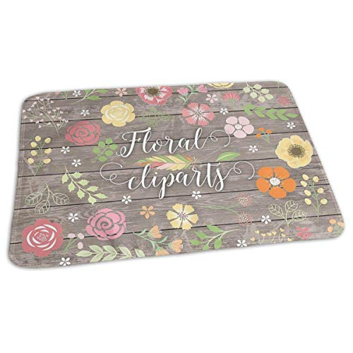 Voxpkrs Changing Pad Vintage Shabby Chic Floral Baby Diaper Urine Pad Mat Personalized Toddler Children Pee Pads Sheet for Any Places for Home Travel Bed Play Stroller Crib Car