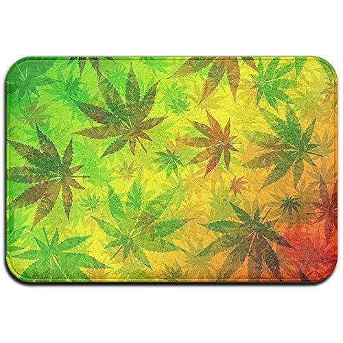 ZZ Power Felpudo,Alfombrillas De Marihuana Alfombrillas