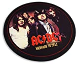 Tapis rond AC/DC Highway to Hell