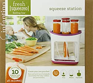 Best Baby Food Squeeze Station