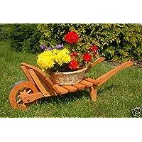 Brouette decorative jardin - Brouette en bois de jardin ...