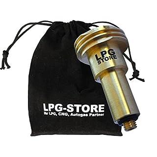 LPG Autogas Tankadapter ACME M10 Ausführung lang für Deutschland und Europa mit Stoffbeutel