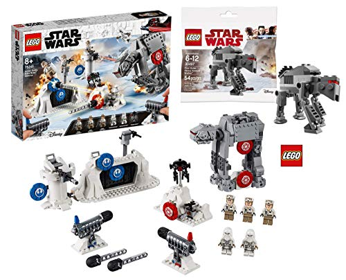 LEGO Star Wars 75241 - Das Imperium schlägt zurück Action Battle Echo Base Verteidigung, Bauset + 30497 Star WarsTM - Polybag First Order Heavy Assault WalkerTM - Star Lego At-at Wars Walker