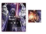 Disney Star Wars Kuscheldecke mit Kopfkissen Fleecedecke Darth Vader Han Solo