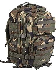 Pack de asalto MOLLE táctico con mochila de patrulla 36L, Bosque