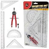 Ferocious Viking Products 6 Stk Geometrie Zirkel Set