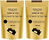 #9: Dubaria Toner Powder Pouch Compatible For Use In Ricoh SP100 / SP111 / SP111SU / SP200 / SP210 / SP212SNw / SP300 / SP 300DN / SP310DN / SP 325Sfnw /SP3400 / SP3410 / SP3510 / Aficio 3510DN Printers – 100 Grams (Set of 2) (Black)