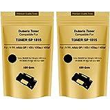 Dubaria Toner Powder Pouch Compatible For Use In Ricoh SP100 / SP111 / SP111SU / SP200 / SP210 / SP212SNw / SP300 / SP 300DN / SP310DN / SP 325Sfnw /SP3400 / SP3410 / SP3510 / Aficio 3510DN Printers – 100 Grams (Set Of 2) (Black)