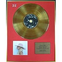 Lady Gaga–Ltd Edition CD 24carats revêtu disque d'or–Joanne