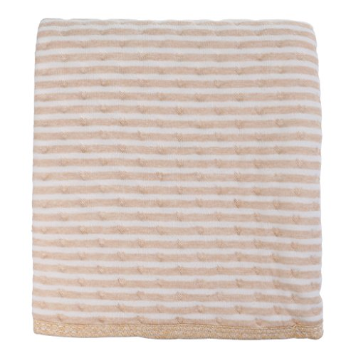 MagiDeal Cotton 3 Layers Waterproof Baby Toddler Changing Pads Washable Resuable Diapers Liners Mats - stripe-60x90cm
