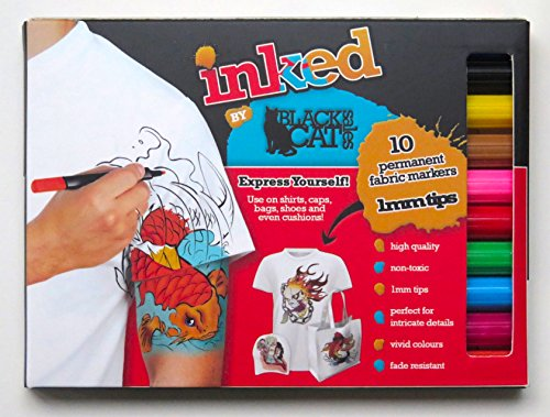 -lot-de-10-marqueurs-permanent-tissu-fin-de-haute-qualite-stylos-encre-non-toxique-et-a-base-deau-ha