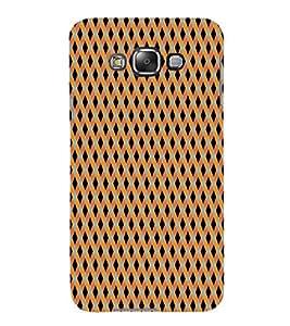 3D Pattern 3D Hard Polycarbonate Designer Back Case Cover for Samsung Galaxy E7 :: Samsung Galaxy E7 E700F (2015)