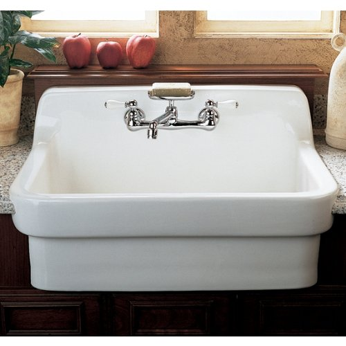 american standard 9062 008 020 country kitchen sink with 8 inch centers white heat  amazon co uk  diy  u0026 tools american standard 9062 008 020 country kitchen sink with 8 inch      rh   amazon co uk