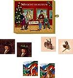 Seasons Greetings Juego y Diversion de Bolsillo Encuentra la Pareja Memo Navidad en el Museo