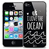 Caseink - Coque Housse Etui pour Apple iPhone 4/4s [Crystal HD Collection Summer...