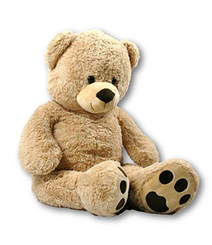 XXL Teddybär Bär 1m hellbraun Kuschelbär 100 cm Teddy Plüschtier Kuscheltier