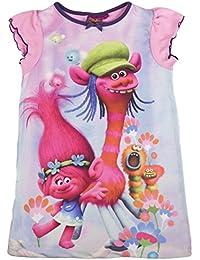 Lora Dora - Chemise de nuit - Manches Courtes - Fille rose rose