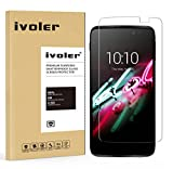 Alcatel Onetouch Idol 3 4.7'' Protection écran, iVoler® Film Protection d'écran en Verre Trempé Glass Screen Protector Vitre Tempered pour Alcatel Onetouch Idol 3 4.7''- Dureté 9H, Ultra-mince 0.20 mm, 2.5D Bords Arrondis- Anti-rayure, Anti-traces de do