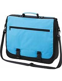 HALFAR - sac sacoche bandoulière étudiant BUSINESS 1800775 - bleu clair - mixte homme / femme -