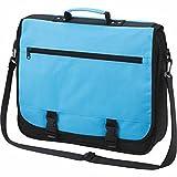 HALFAR-BUSINESS Tasche Umhängetasche Student 1800775, hellblau, unisex, für Damen und Herren