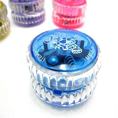 Kompassswc Jo-Jo mit LED Licht yoyo mit blinkend lichteffekt Freizeit Spielzeug Zufällig Farbe (1 Stück)