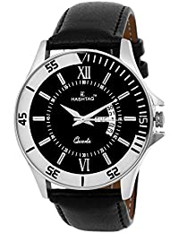 HASHTAG Analogue Quartz Elegant Chrome Watch for Men - Hashtag-htc3072ch-dd-bs
