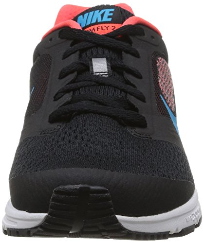 Nike  NIKE AIR ZOOM FLY 2, chaussures de sport homme Black/Bl Lgn/Brght Crmsn/White