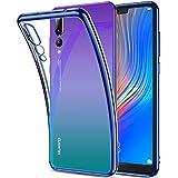 Huawei P20 Pro Hülle, RANVOO Transparent Silikon Handyhülle Durchsichtig Kratzfest Schutzhülle Slim Flexible TPU Chrome Bumper Cover Crystal Clear Case Hülle für Huawei P20 Pro, 6.1 Zoll (Twilight)