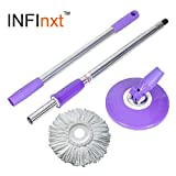 Infinxt Spin Mop Replacement Handle (Pur...