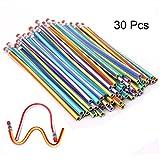 Lot de 30 Soft Flexible Bendy Pencils,Crayons Rigolos pour Fête d'enfants,Cadeau pour les Anniversaire Enfants