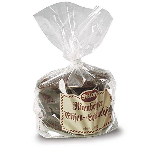 Seim Nürnberger Elisen-Lebkuchen 130 mm Nachfüllpackung für Seim Silberdose 500 g.