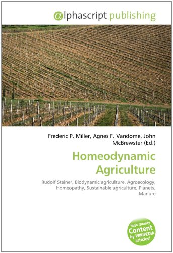 Homeodynamic Agriculture