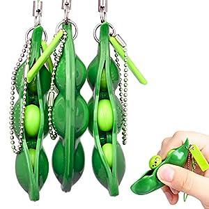 Rmeet Squishy Bean,3 Pack Porte-clé