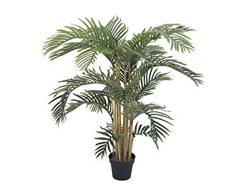 artplants Künstliche Areca Palme NOJA, 140 cm – Kunstpalme