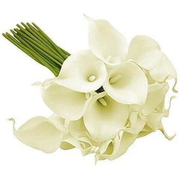 Paris Prix Bouquet De Fleurs 8 Aromes 36cm Blanc Amazon Fr