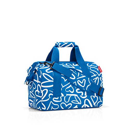 Reisenthel CB0534 Handtasche Allrounder 30 Liter ( 48X39.5X29 cm)L, ruby dots Funky Hearts