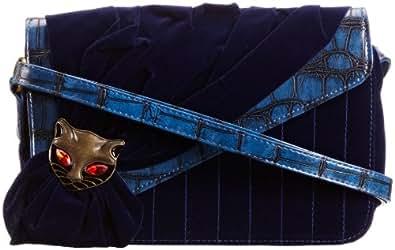 Irregular Choice Womens Mioaw Cross-Body Bag ICMIO06 Blue