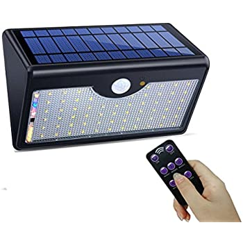 SIEGES 60 LED Solar Outdoor Lights 5 Model Security Motion Sensor Solar  Powered Lights Outdoor Wall