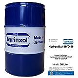 60l FASS HYD 46 LEPRINXOL HYDRAULIKFLÜSSIGKEIT. Das in 60 Litern Garagenfass abgefüllte Hydrauliköl HLP 46 ist ein Mineralöl, das als Druckflüssigkeit, Hydraulik Öl, der DIN 51524 Teil 2-HLP, SEB 181 222-HLP und VDMA, in Hydraulikanlagen verwendet wird.