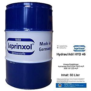60L Fût HYD 46lepri nxol liquide hydraulique. 60litres dans le garage Tonneau abgefüllte Huile hydraulique HLP 46est un mineralöl, le comme liquide de pression, hydraulique huile, des DIN 51524partie 2-HLP, SEB 181222HLP et VDMA, dans des installations hydraulique utilisé. pas cher