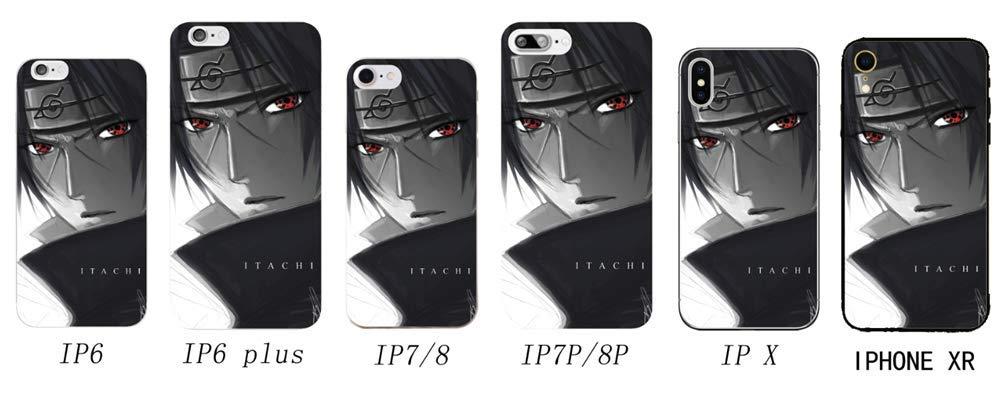 JackLove Naruto Itachi Anime Manga Comic Theme Hülle für Apple iPhone 6/iPhone 6S/iPhone 6p/iPhone