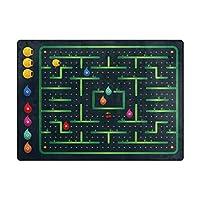 Orediy Soft Area Rugs Cute Monster Maze Game Kids Playing Rug Floor Mat 160 x 122 CM Large Lightweight Foam Rug for Living Room Bedroom