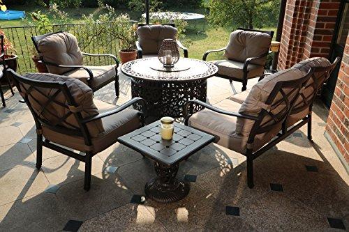 Aluguss-Gartenmöbel: Mehr als 3 Angebote, Fotos, Preise ✓