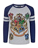 Harry Potter Hogwarts Boy's Raglan T-Shirt (13-14 Years)