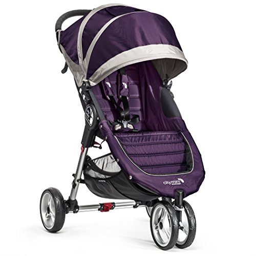 Baby Jogger City Mini 3 Passeggino, Viola(Purple/Gray)