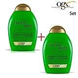 OGX Organix - SET Hydrating + Tea Tree Mint 1 x SHAMPOO + 1 x CONDITIONER