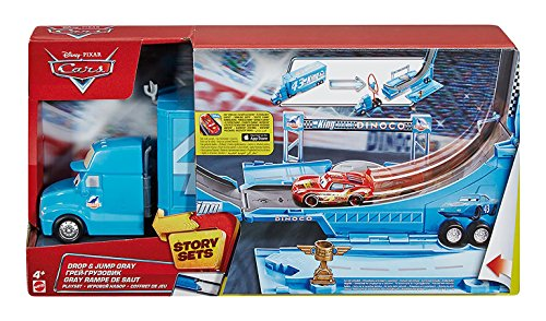 Hot Wheels Cars - Coche, Pista Salto Mortal (Mattel DHF52)